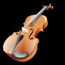 Violin sight reading.